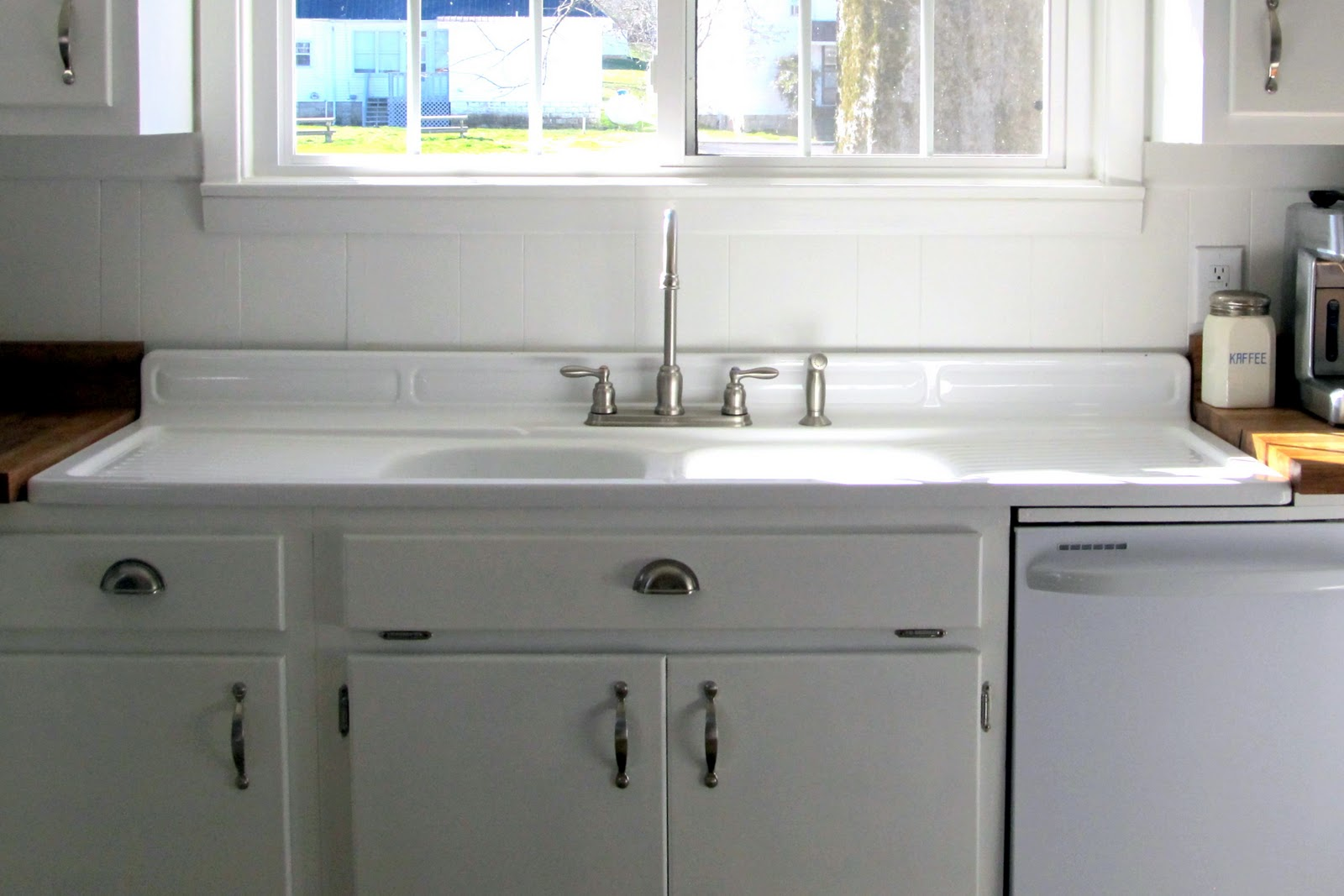Related image with Farmhouse Kitchen Sink With Drainboard