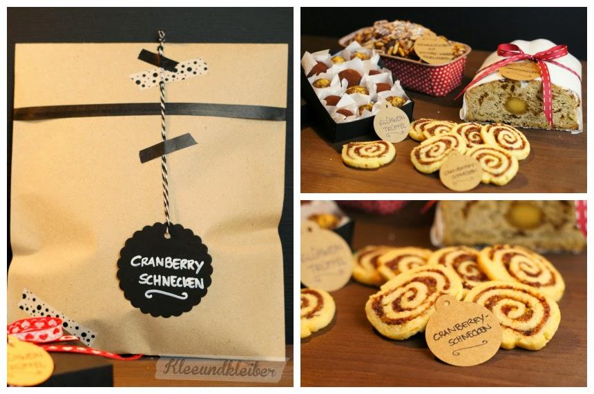 PAMK Xmas Cranberry Schnecken Cookies