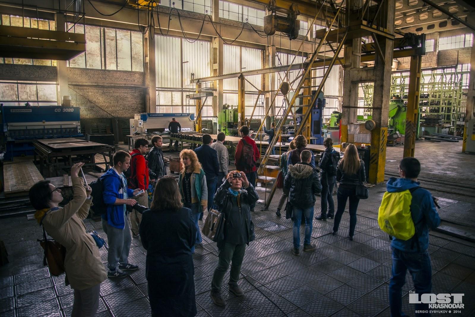Экскурсия по заводу Кубаньжелдормаш