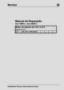 MANUAL DE REPARAÇÃO GOL 99/06