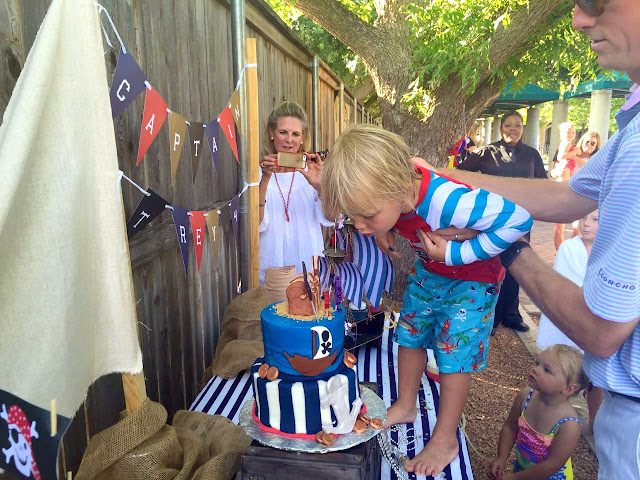 Pirate Treasure Hunting Birthday