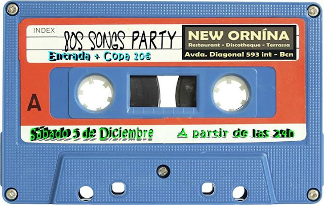 Flyer 80s Songs Party
