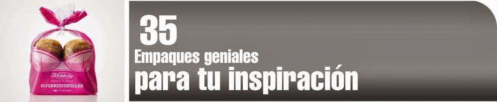 Empaques geniales para tu inspiracion