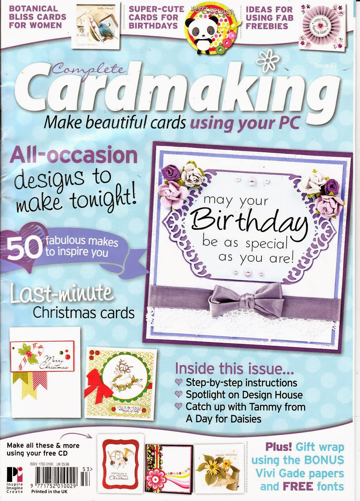 Complete Cardmaking-December 2014