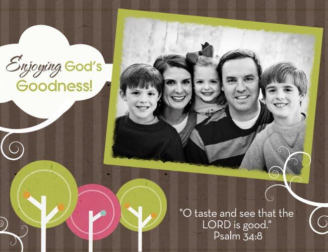 Enjoying God's Goodness