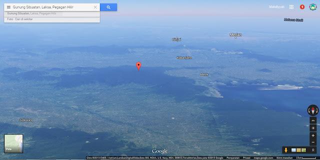 Gunung Sibuatan, Sibuaten, puncak tertinggi sumatera utara