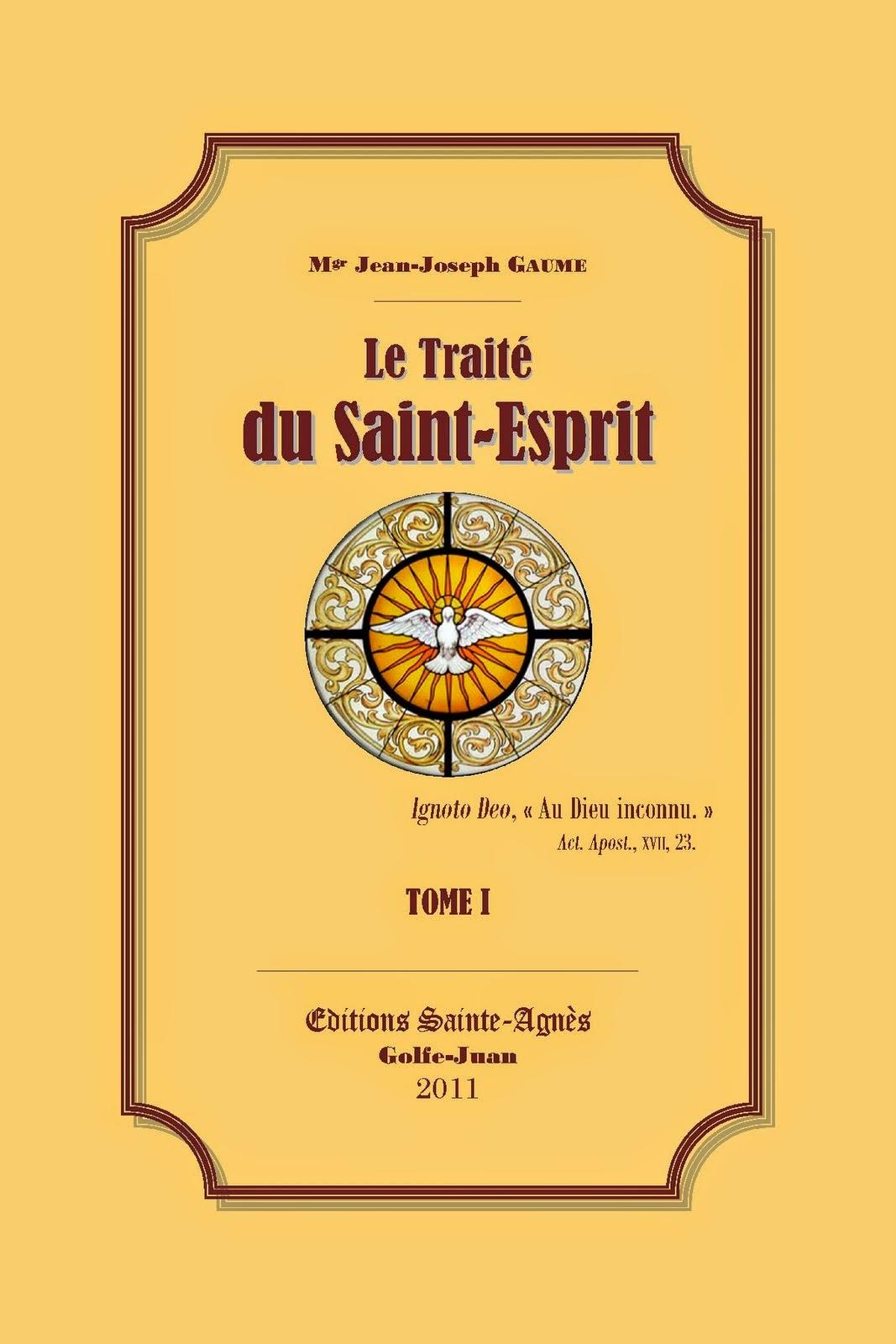 Tratado Del Espíritu Santo I-II