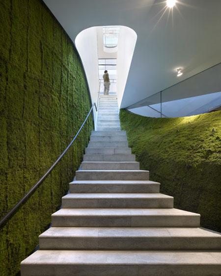Architettura take away l 39 architettura si ricopre di verde for Architettura verde