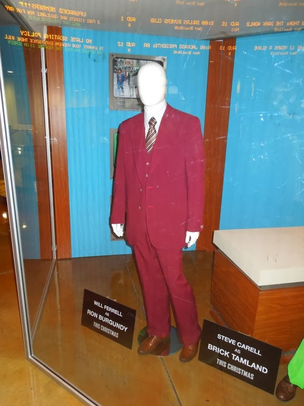 Will Ferrell Anchorman 2 Ron Burgundy movie costume