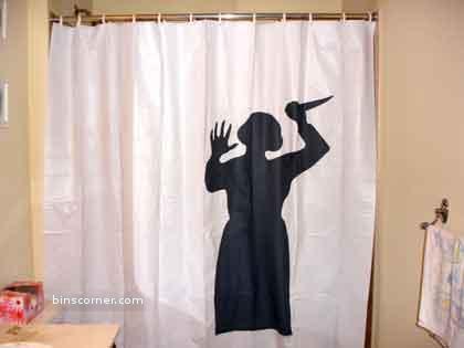 horror curtain