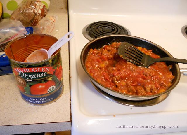 homemade spicy sausage sauce pasta recipe