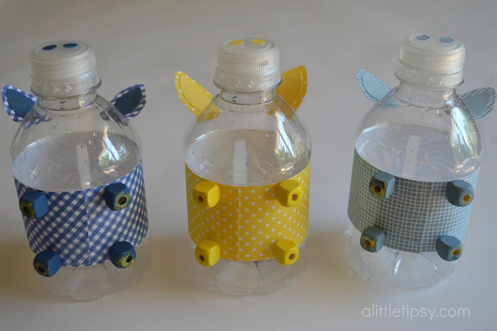 Diy plastic bottle piggy bank for Plastic bottle coin bank