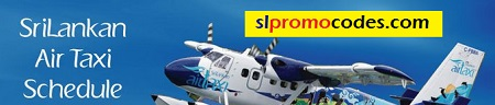 Srilankan Airtaxi Offers ! Time Table & Rates