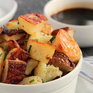 Kid Cultivation: Salt and Vinegar Roasted Potatoes
