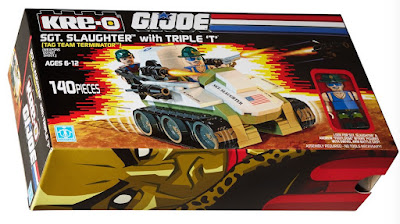 San Diego Comic-Con 2015 Exclusive G.I. Joe Sgt. Slaughter Kre-O Box Set by Hasbro