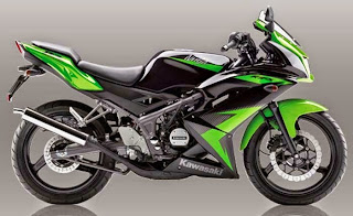 Update Daftar Harga Motor Kawasaki Ninja Terbaru Januari 2016