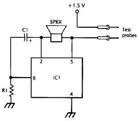 Lm3909 continuity tester circuit diagram circuits and explanation lm3909 continuity tester circuit diagram circuits and explanation ccuart Choice Image