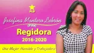 "Lic. Josefina Montero Lebron ""Fifa"" Regidora"