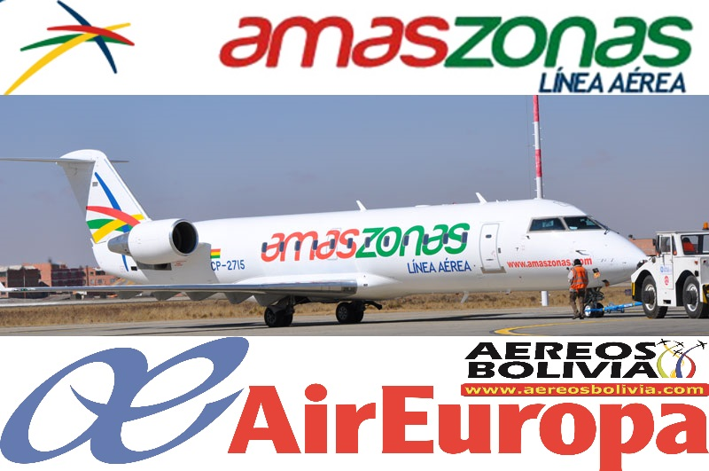 Viajar a bolivia desde espa a con 2 maletas vuelo directo - Oficinas de air europa ...