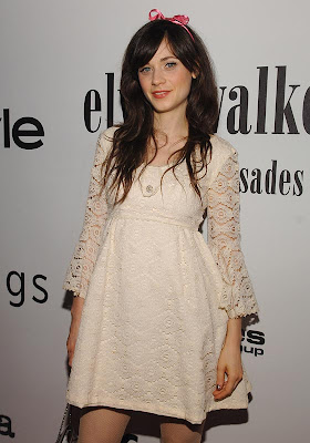 Zooey Deschanel vestido fashion
