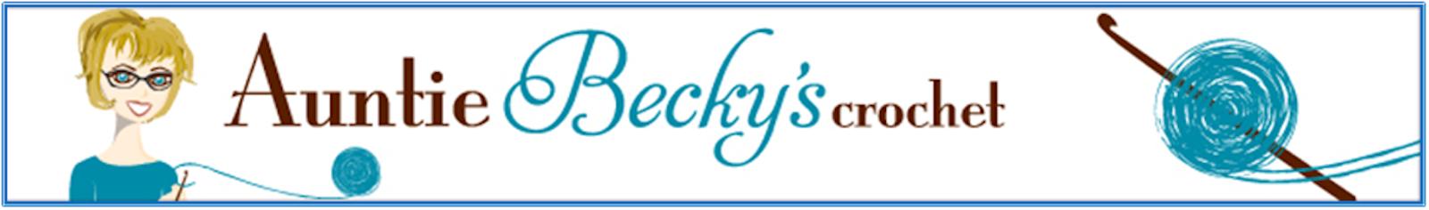 Auntie Becky's Crochet