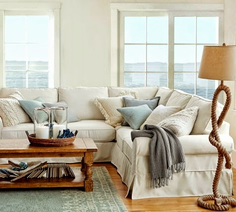 indoor outdoor coastal living at pottery barn