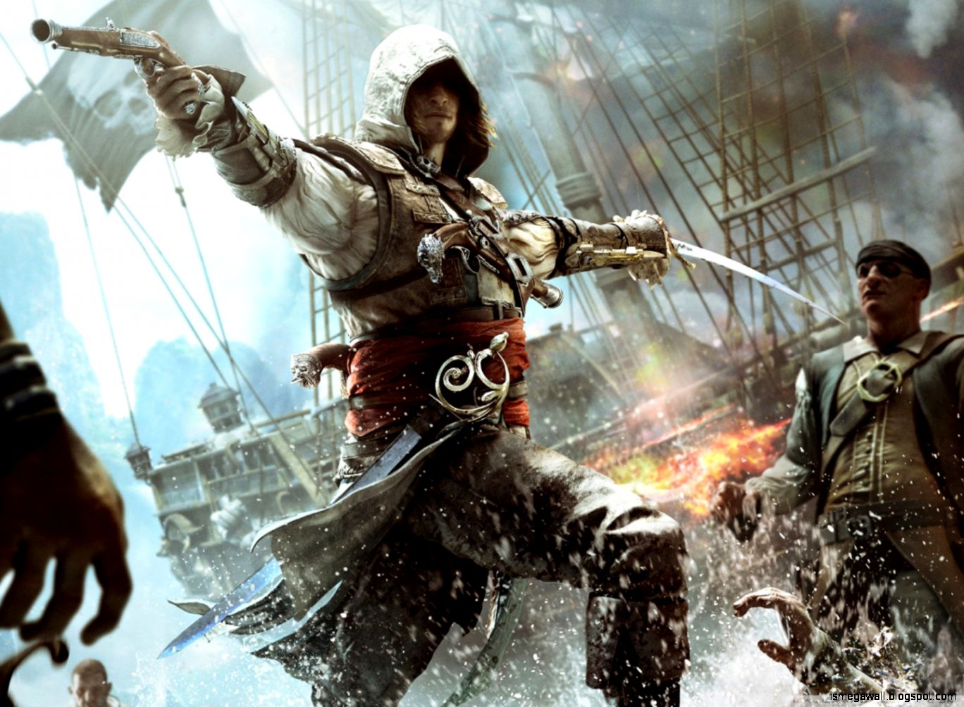 Assassins Creed IV Black Flag Game Wallpapers HD  - assassins creed iv black flag game wallpapers