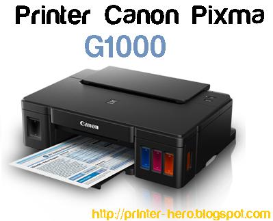Spesifikasi Printer Canon Pixma G1000