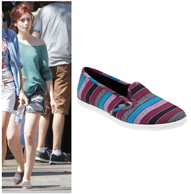 The Mortal Instruments: City of Bones Clary's Striped Shoes (Lily Collins)