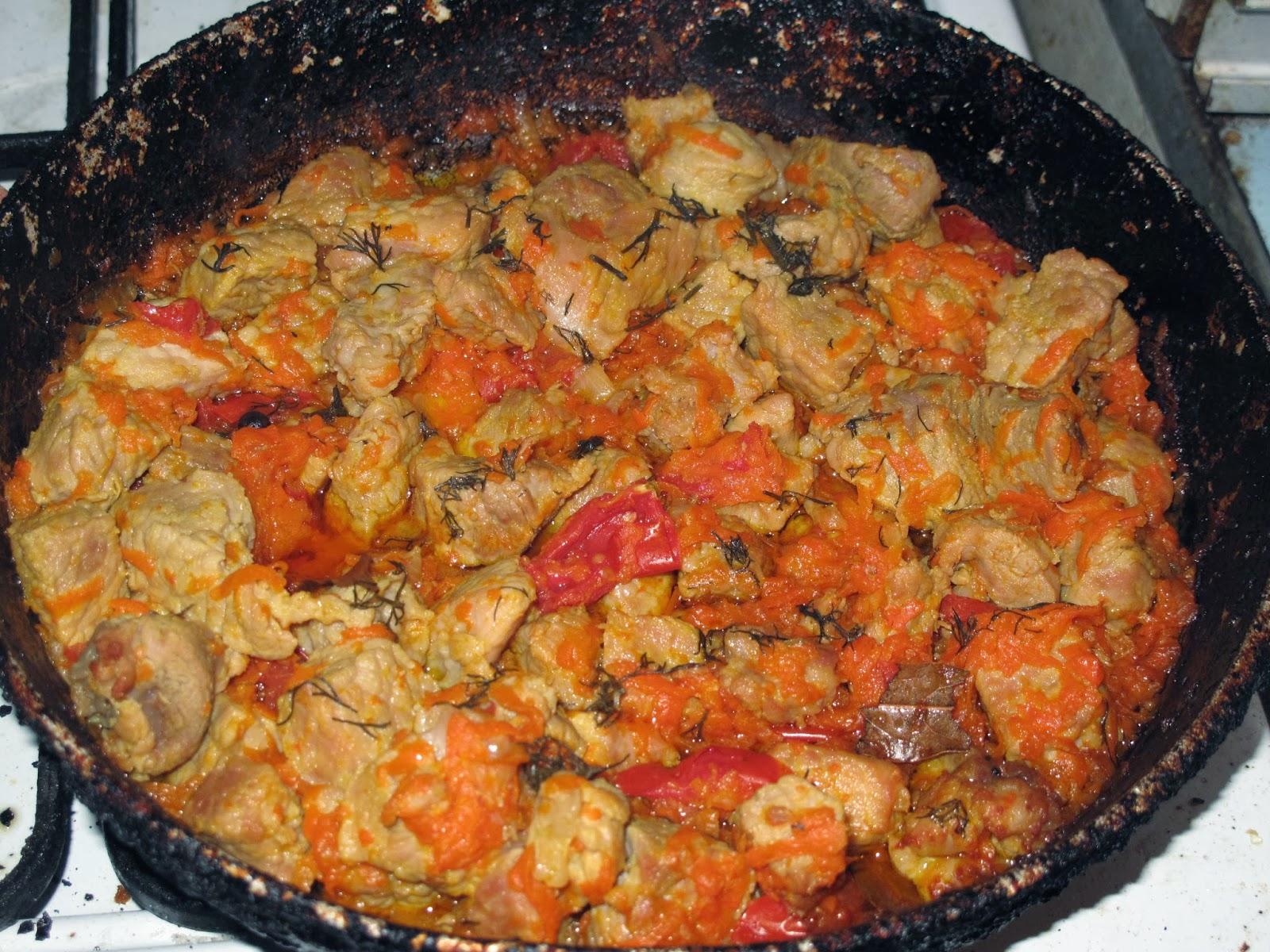Рецепт тушеных кабачков с овощами на сковороде пошагово в