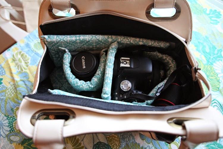 Stylische Kameratasche: Handtasche selber machen