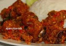 resep masakan indonesia ayam rica-rica spesial praktis, mudah, sedap, nikmat