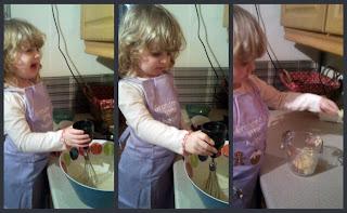 Baking at 2!