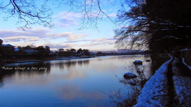 Snowy Arashiyama