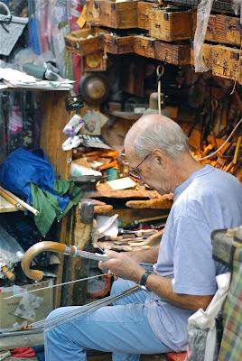 Mario Talarico: umbrellas, Naples