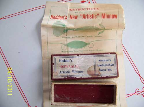 dowagiac mature personals The pre-1920 heddon lure and box 1903 research on heddon dowagiac fishing lures and boxes identification and dating.