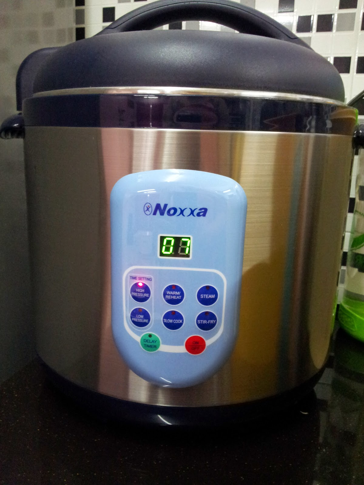 Noxxa Multifunction Pressure Cooker No Power 171 Diy