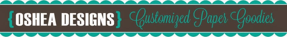 OSHEA DESIGNS - Customized Paper Goodies