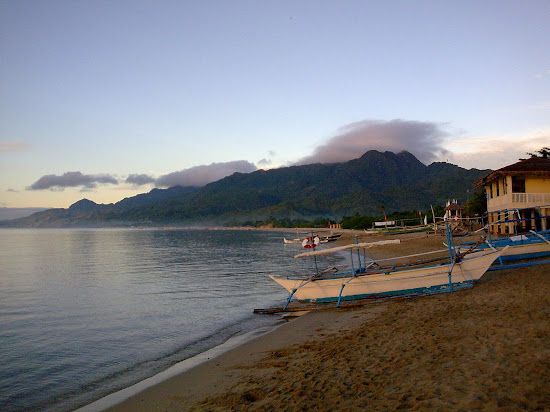 Mountains of Laiya Aplaya
