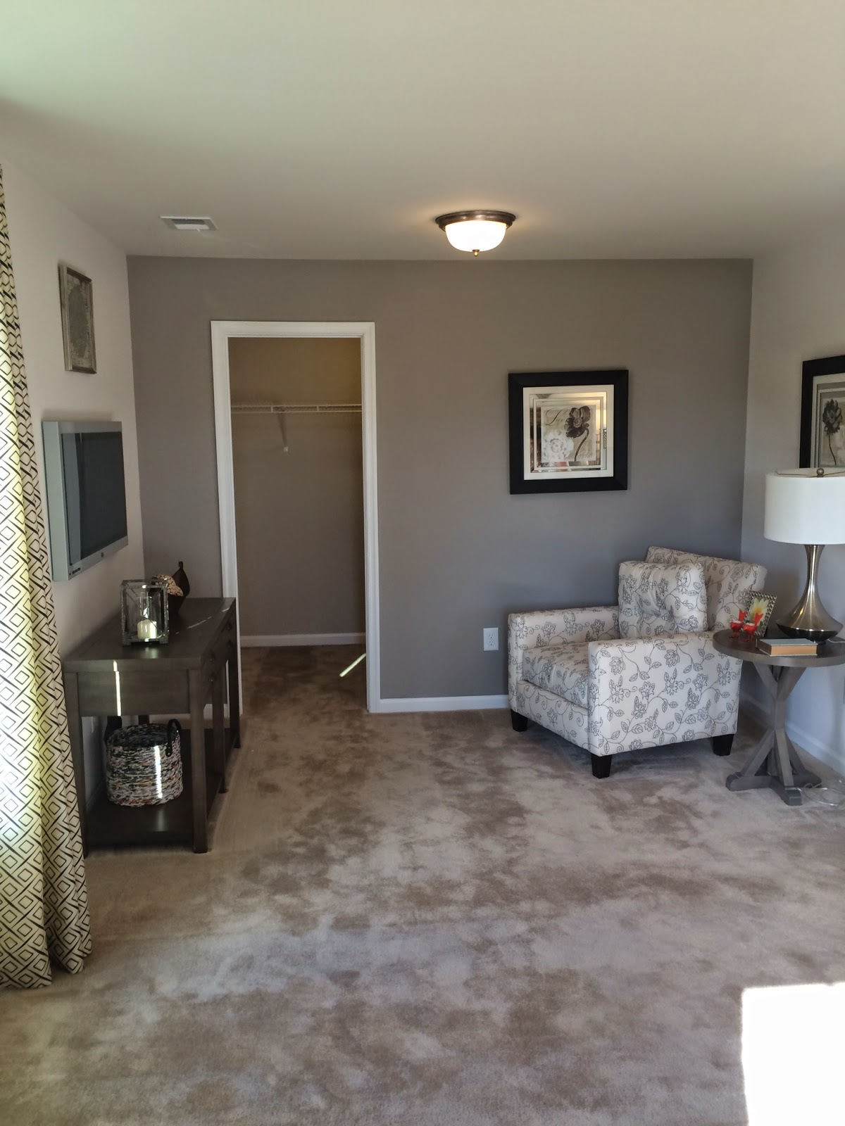Ryan Homes Rome Master Bedroom Sitting Area | New Home | Pinterest ...