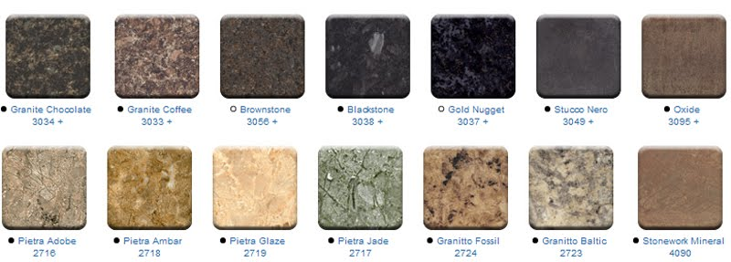 Muebles nanos muestras melaminas for Marmoles cerezo