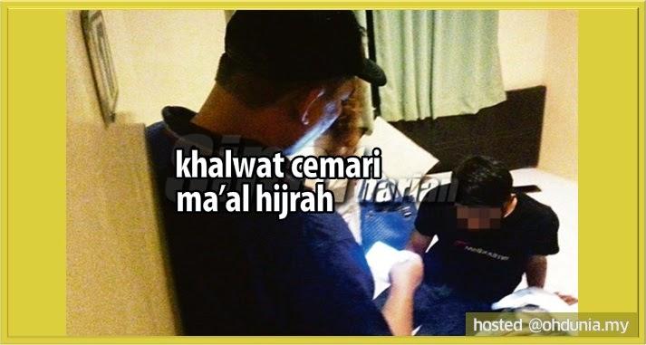 Ma'al Hijrah Dicemari Dengan Maksiat Khalwat Di Hotel-Hotel Bajet