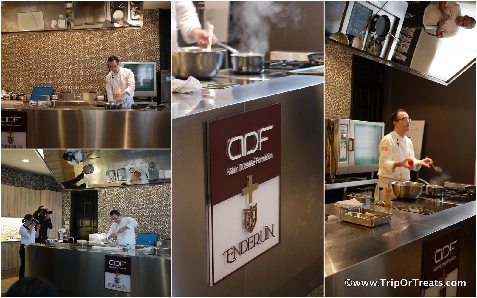 Trip or treats discover cuisine at alain ducasse - Formation cuisine paris ...