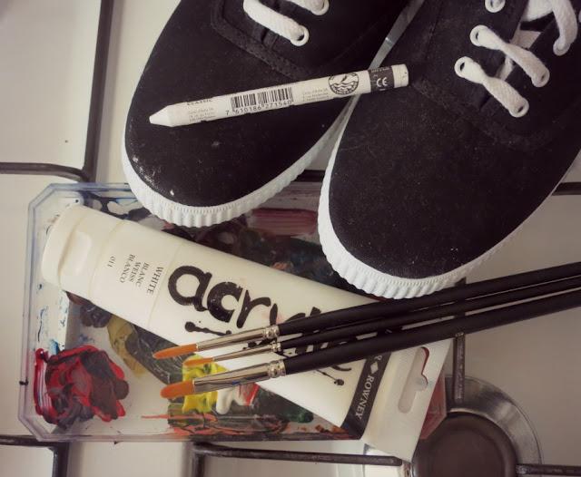 DIY: Customisons nos tennis Victoria (mais pas Beckham)