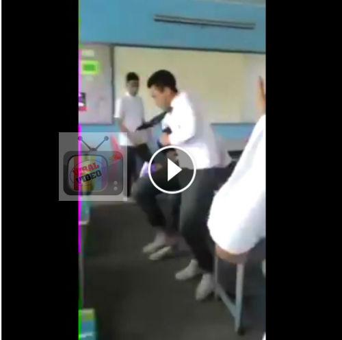 Lagi Kes Pelajar Tunjuk Samseng Dalam Kelas