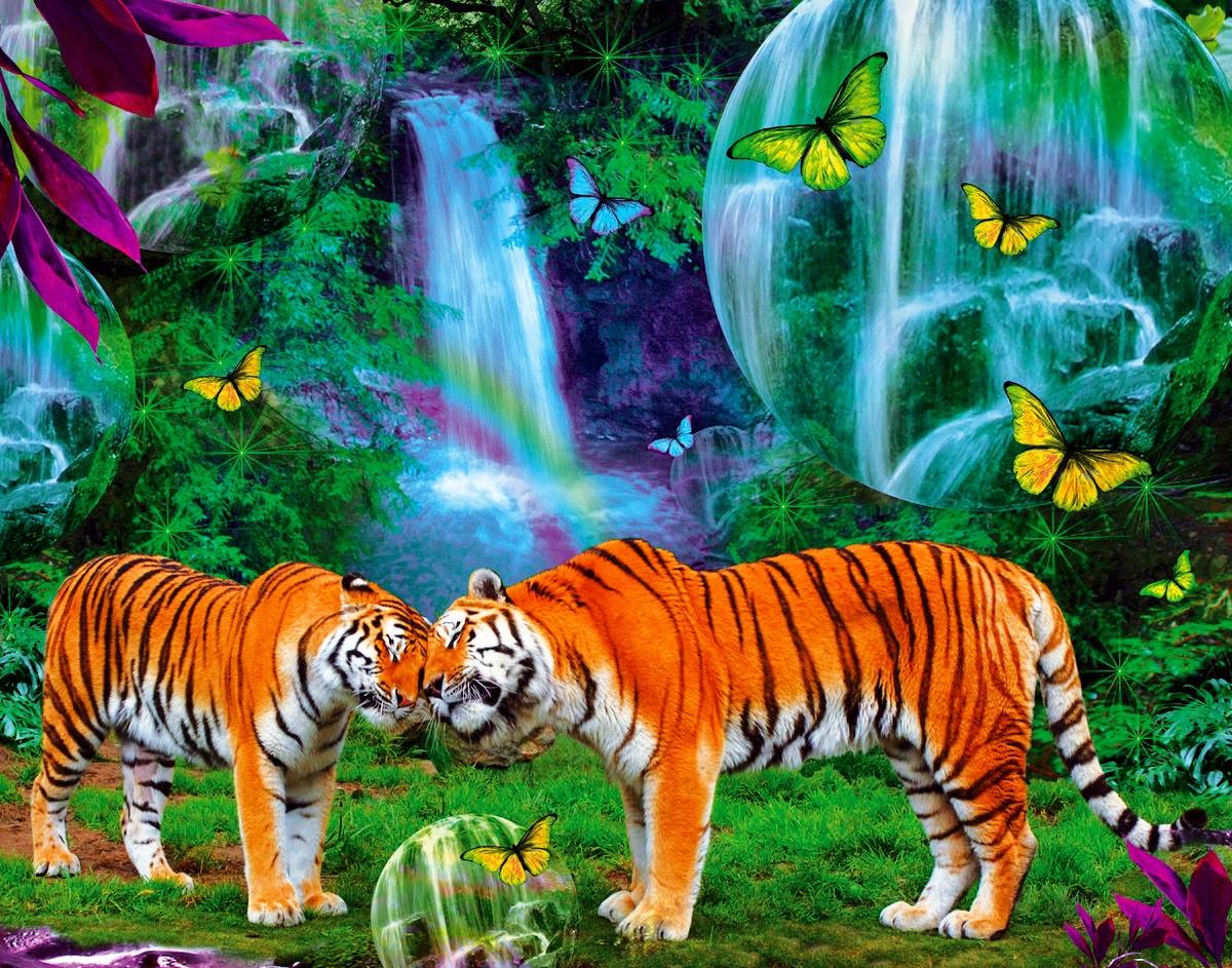 Tiger fan art amazing wallpapers