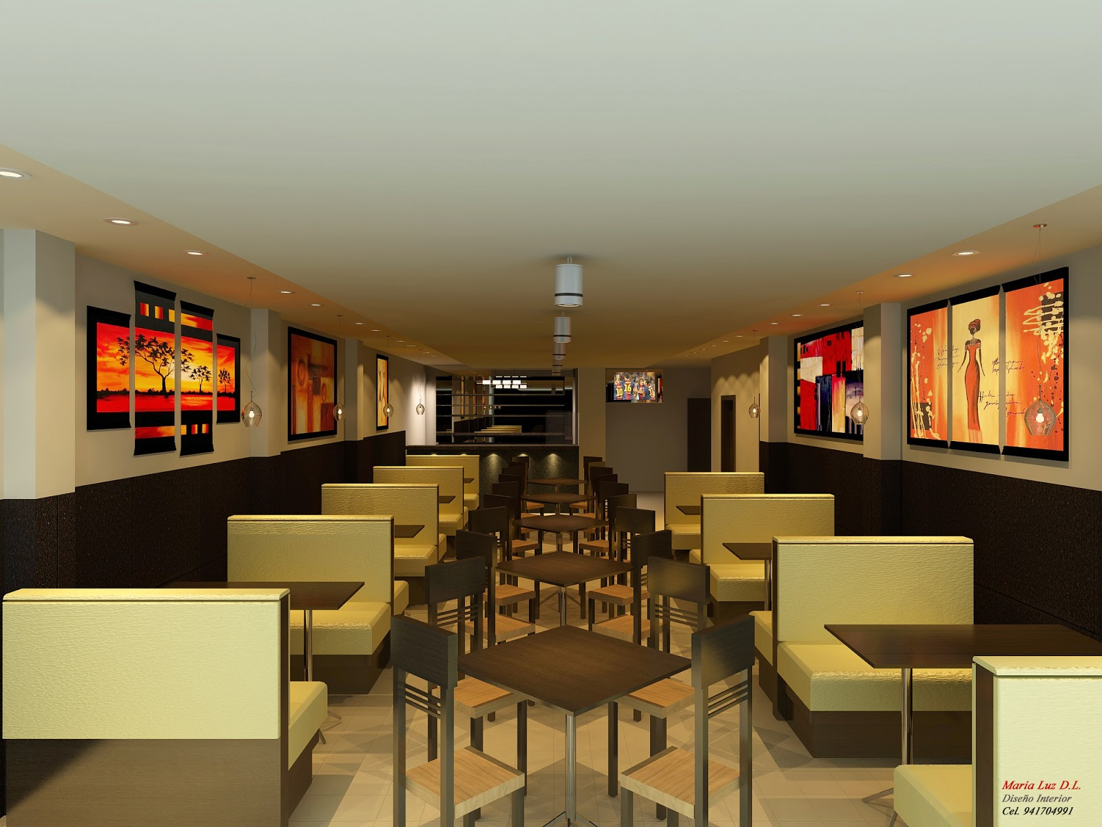 Polleria lima spazio interior for Decoracion de interiores logo