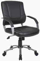 B446 Leather Office Chair