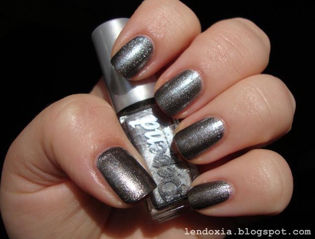 depend tamno srebrni lak za nokte