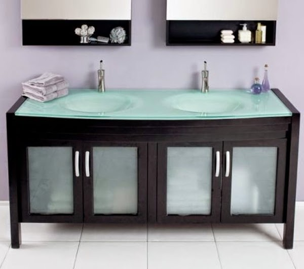 10 ideas of double sink vanity cabinets in bathroom interior for Bathroom ideas double sink